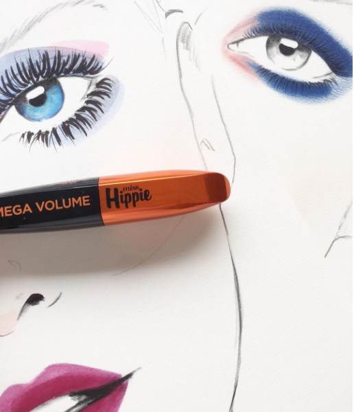 L'Oreal Paris Mega Volume Miss Hippie objemová řasenka 8,4ml